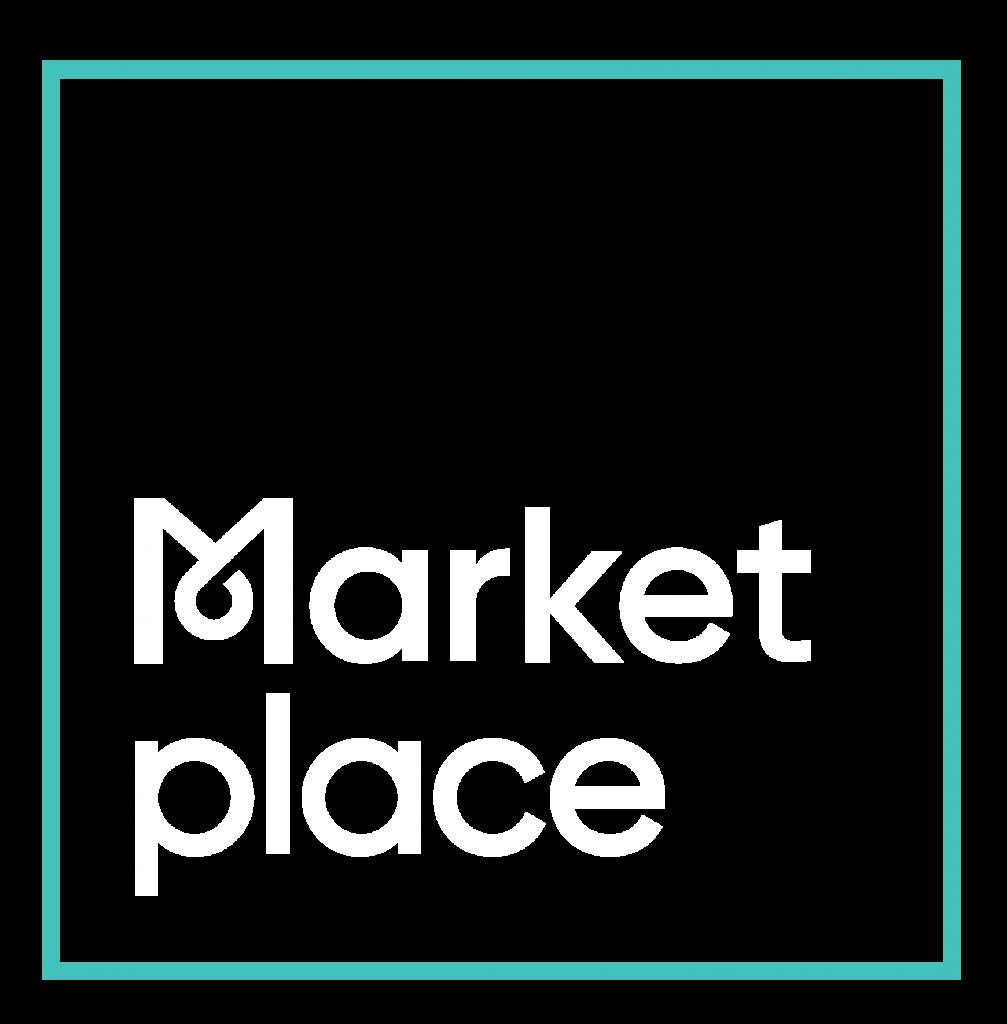 Marketplace Square Logo Reverse